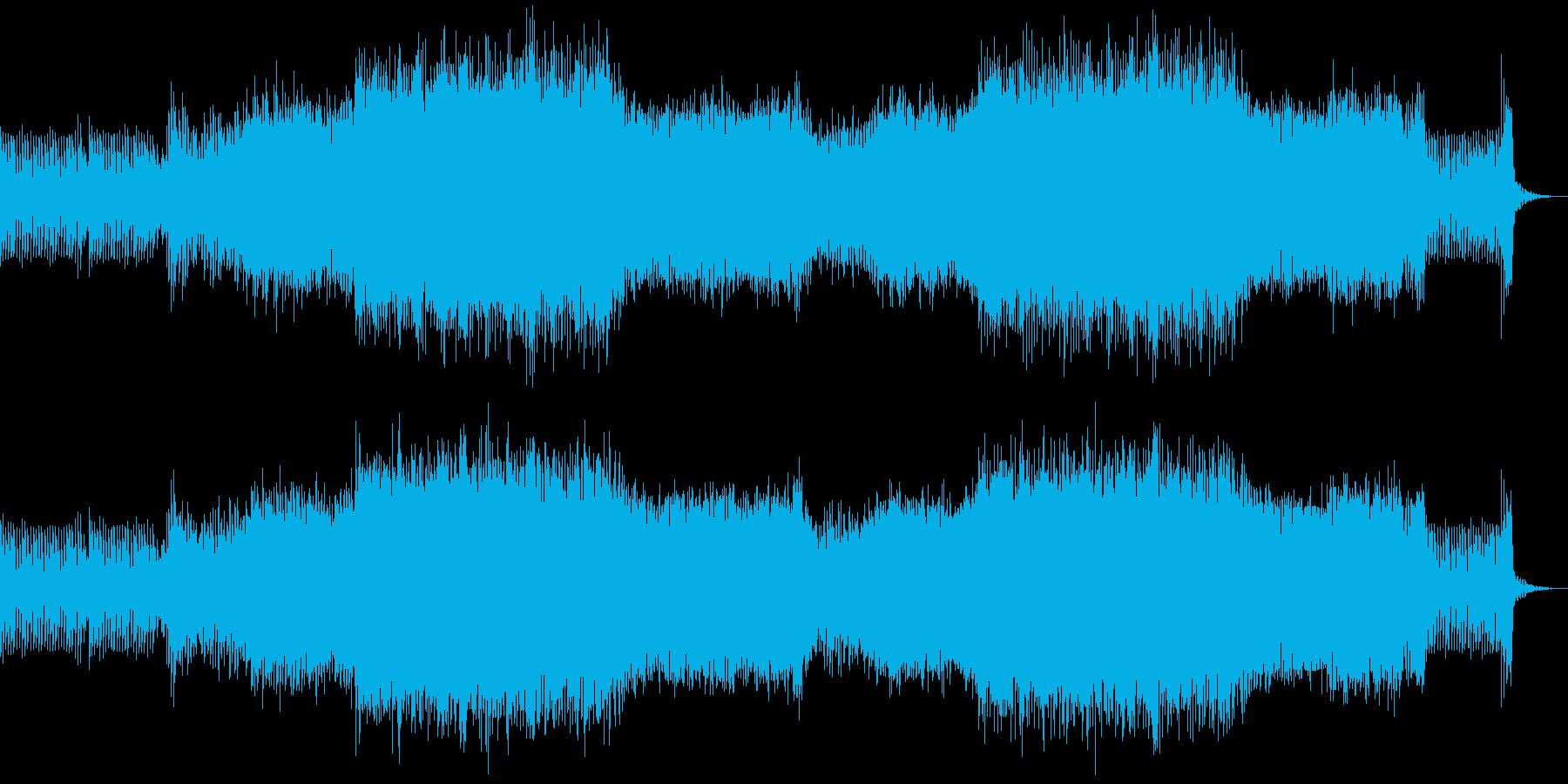 フェスをイメージしたEDMの再生済みの波形
