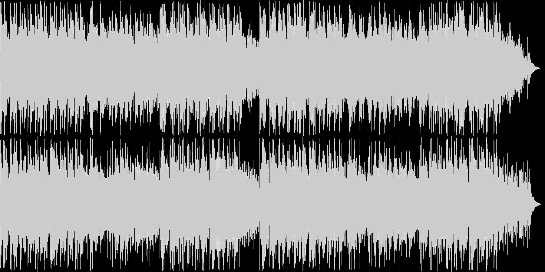 優しいピアノ・シンセサウンドの未再生の波形