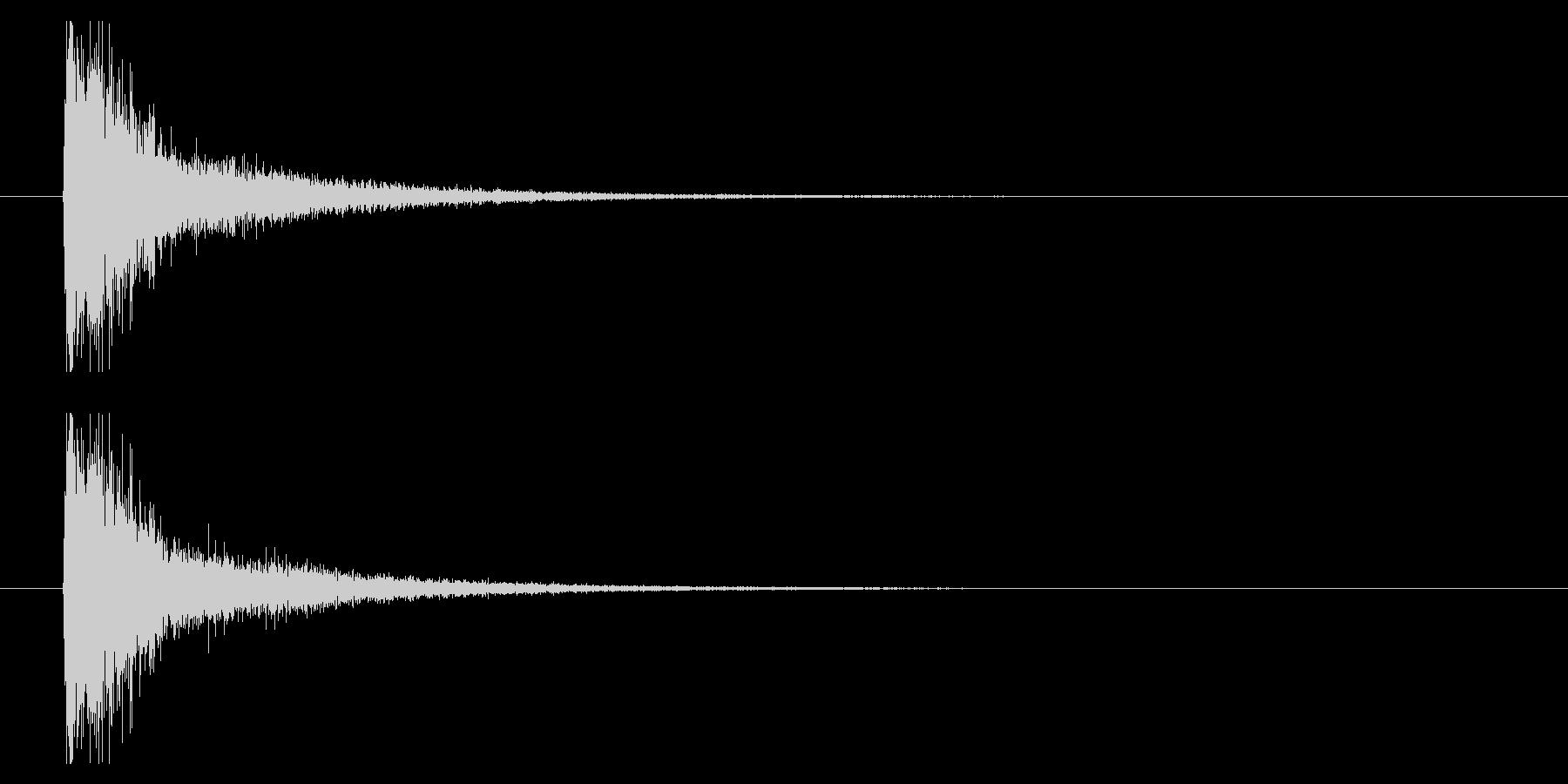 打撃07-5の未再生の波形