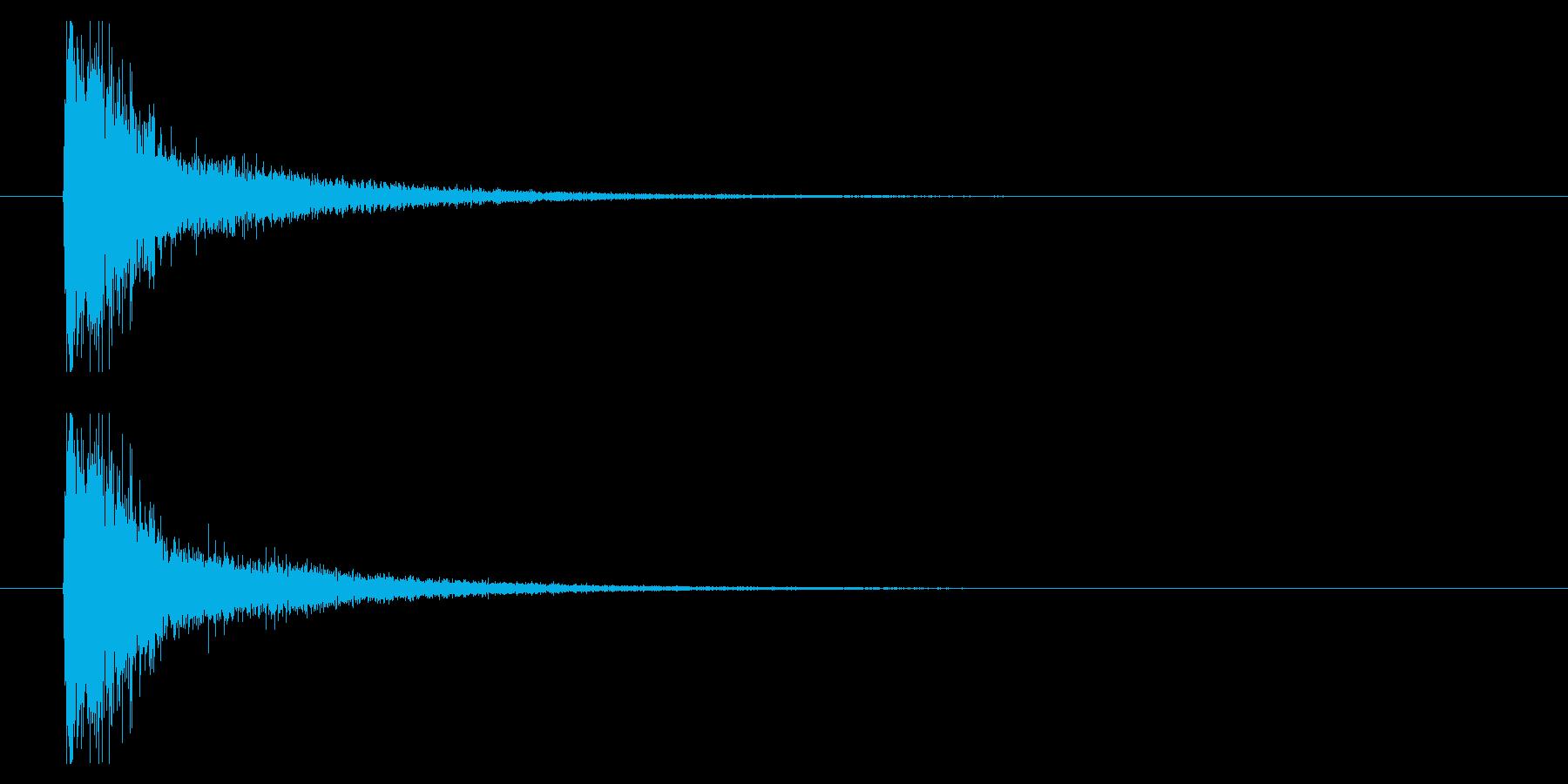 打撃07-5の再生済みの波形
