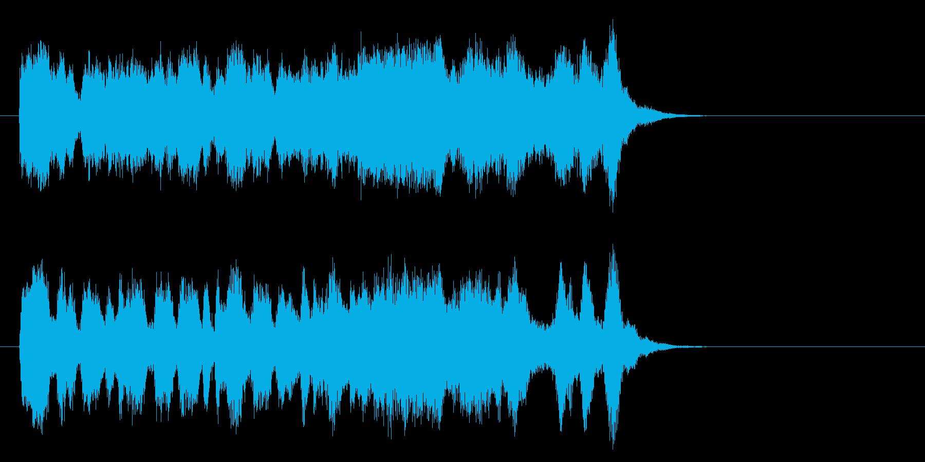 気品高いオーケストラ楽曲(サビ)の再生済みの波形