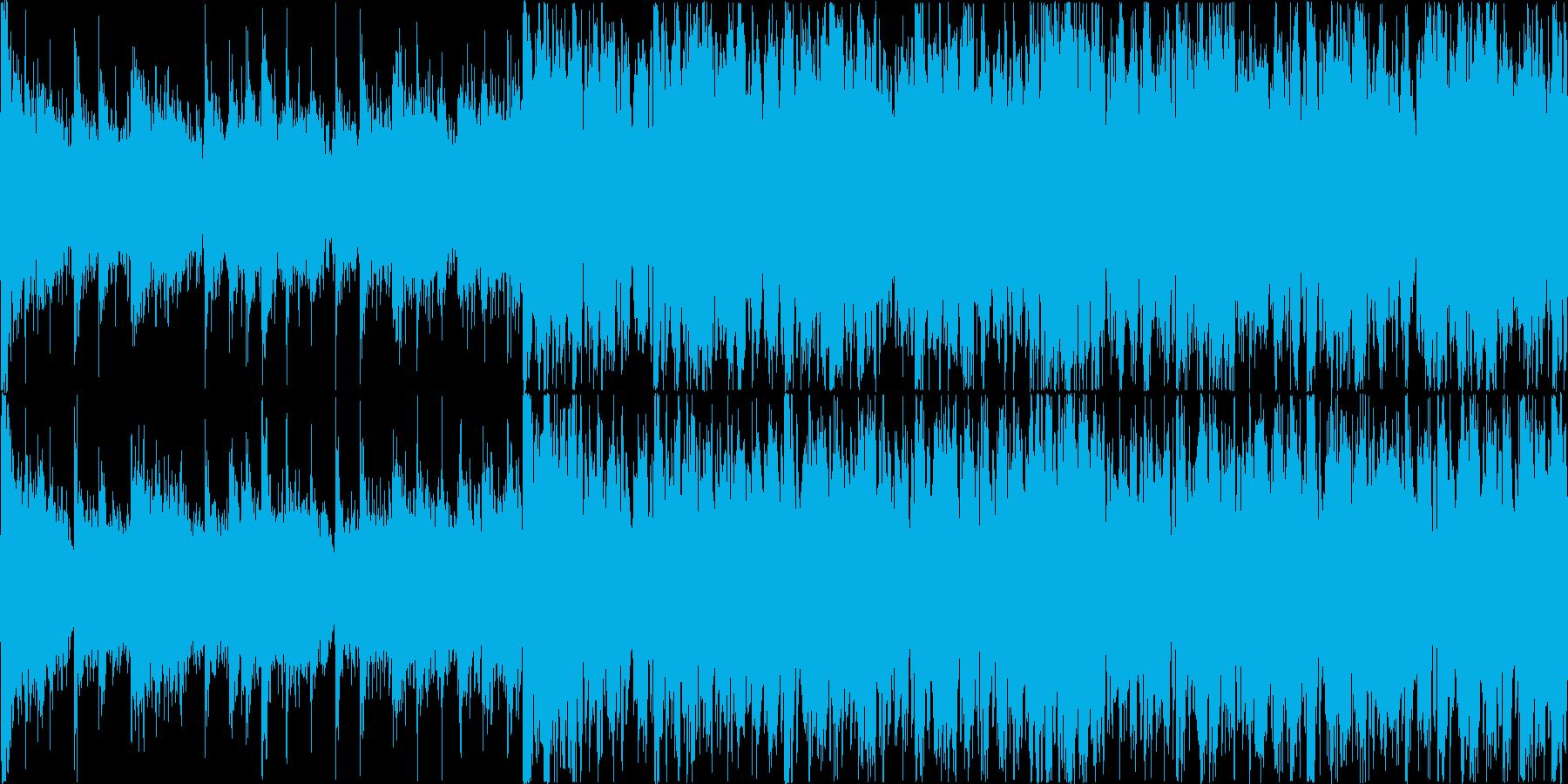 危機感を煽る荘厳なイメージの楽曲ですの再生済みの波形
