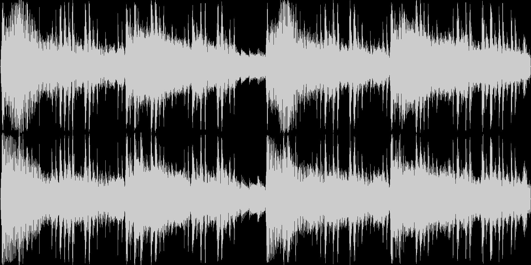 サンプリングボイスを用いたループテクノの未再生の波形