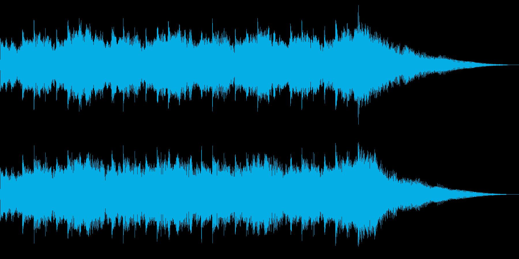 シンセのリフレイン(ロゴ/ジングル)の再生済みの波形