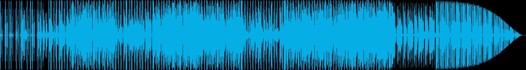 technoですの再生済みの波形