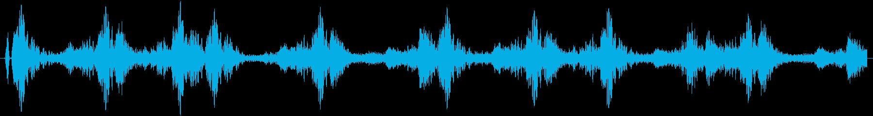 ドラムループ可能 ハイブリット系01!の再生済みの波形