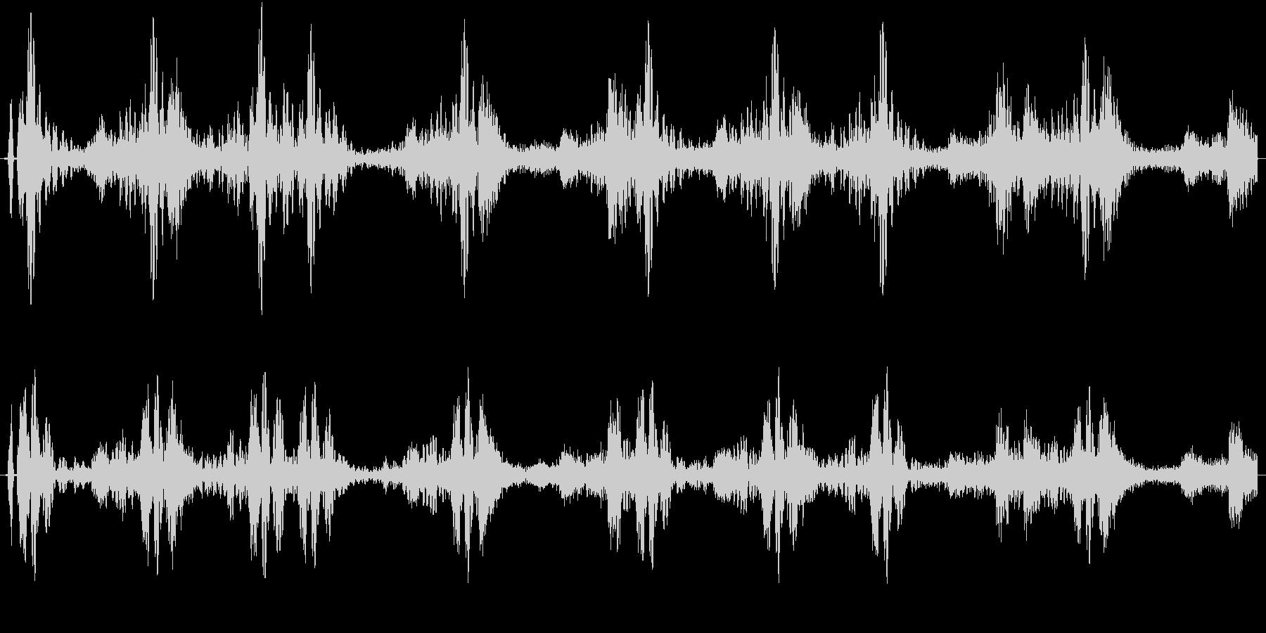 ドラムループ可能 ハイブリット系01!の未再生の波形