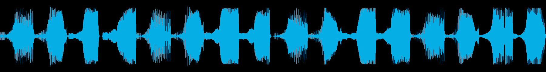 bassの再生済みの波形