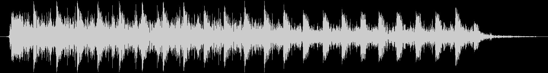【銃声音014】マシンガンの音の未再生の波形