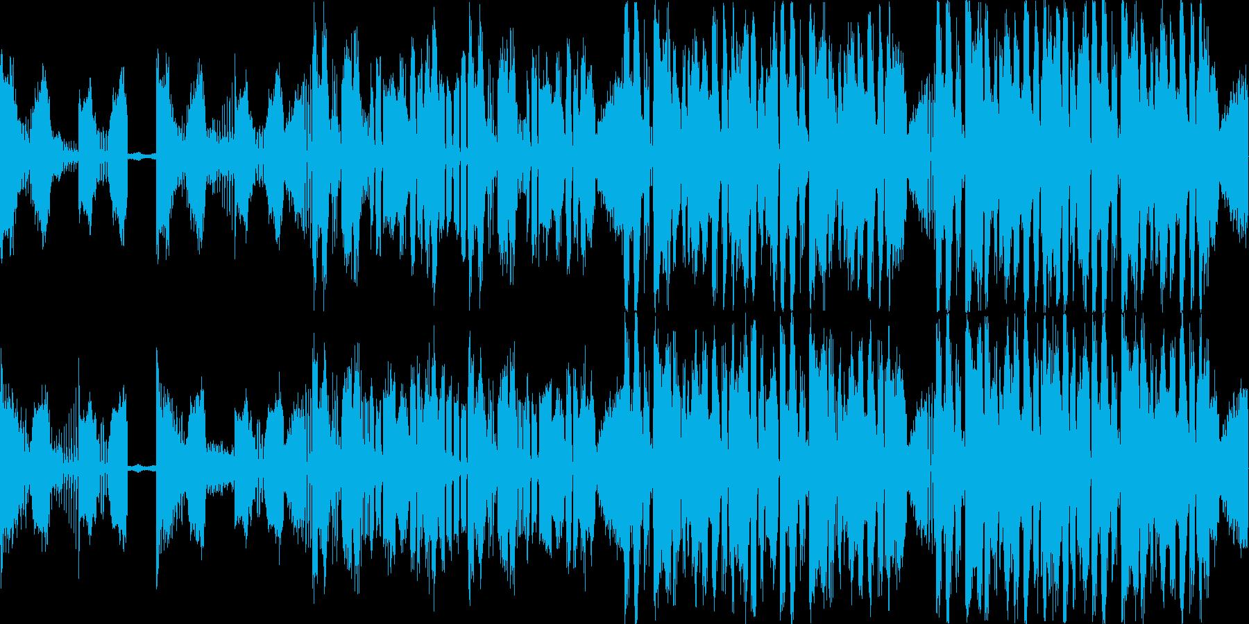 非常事態の演出にいかがでしょうか。の再生済みの波形