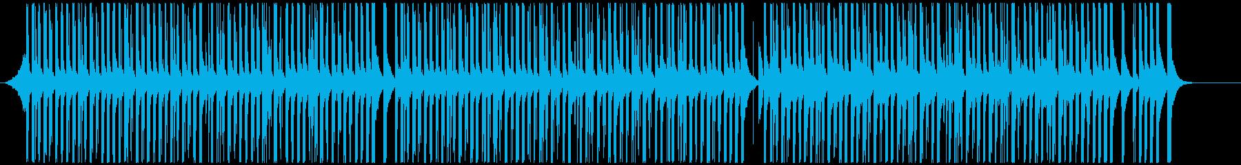 ドラムと手拍子ジングル明るい疾走感(長)の再生済みの波形