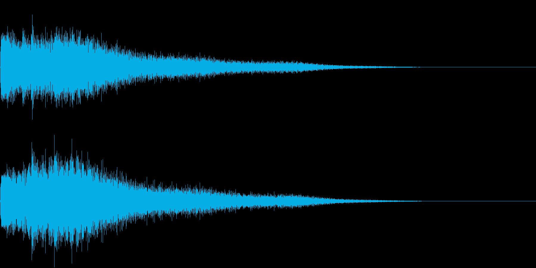 キラン!キラリンッ!(回復音、変身)の再生済みの波形