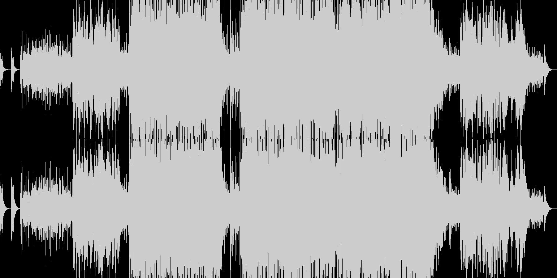 男性ボーカルによる感動的バラードの未再生の波形