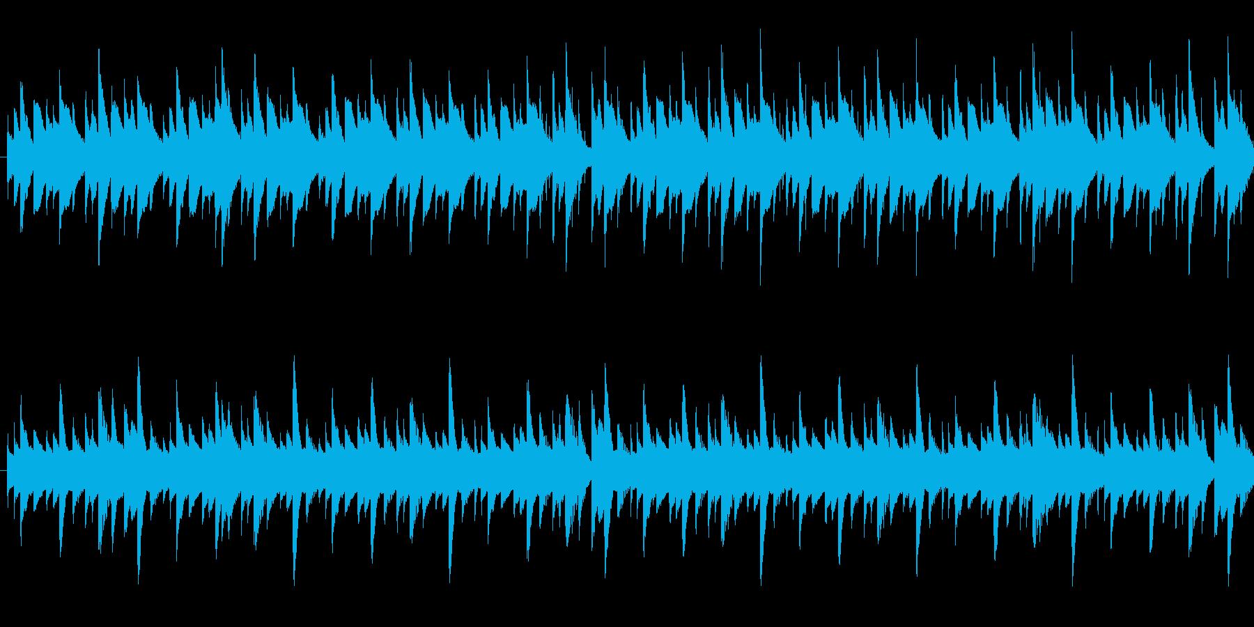 【メロディ抜き】ゆったりほのぼのした雰…の再生済みの波形