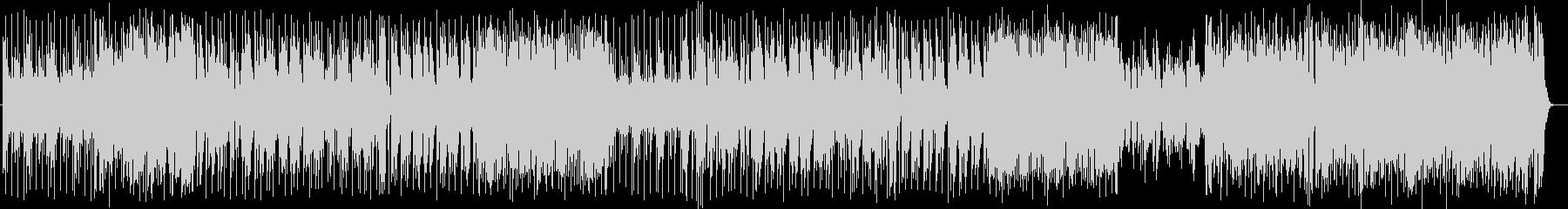 スタイリッシュなジャズロックの未再生の波形
