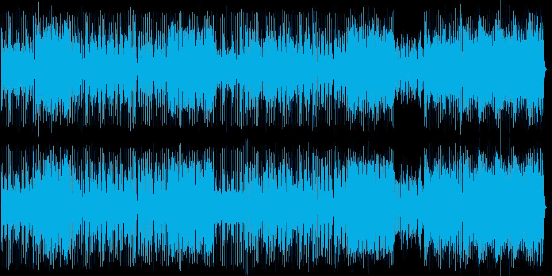スタイリッシュなジャズロックの再生済みの波形