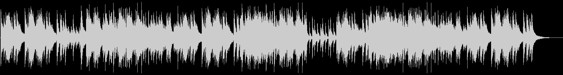 爽やかで切ないピアノのサウンドの未再生の波形