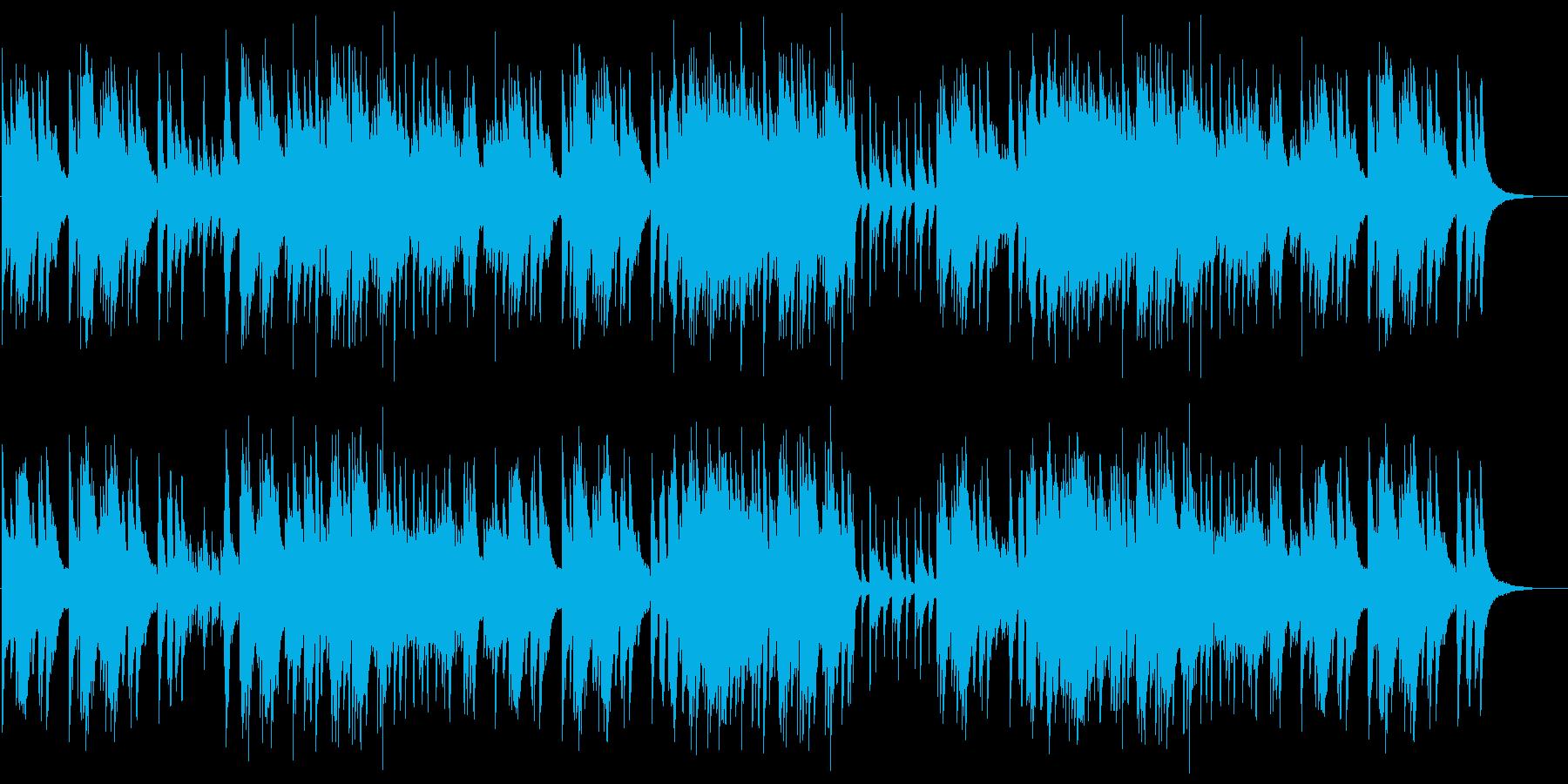 爽やかで切ないピアノのサウンドの再生済みの波形