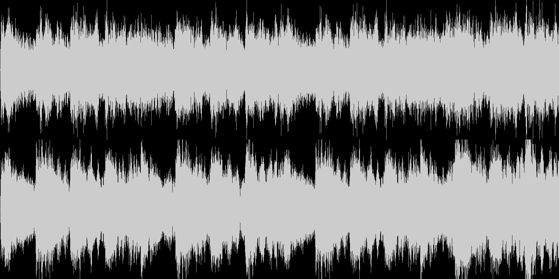 サウンドノベル ミステリー系 ループの未再生の波形