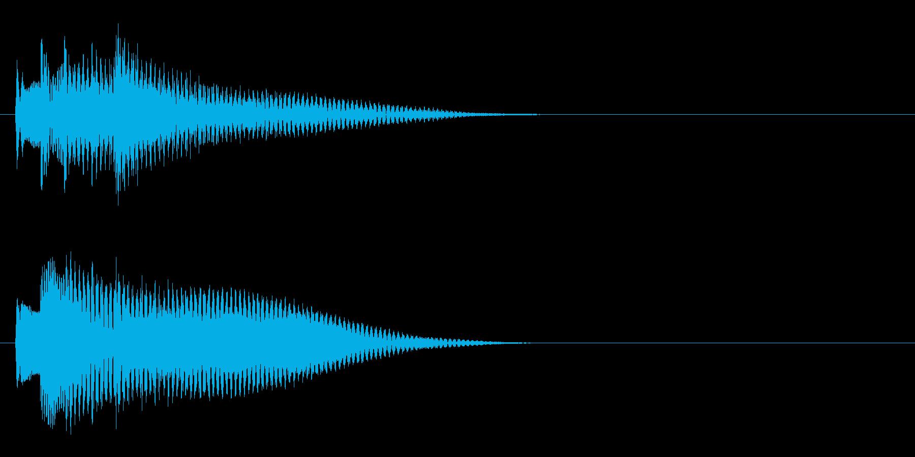 王道RPG3 スタート音 豪華決定音の再生済みの波形