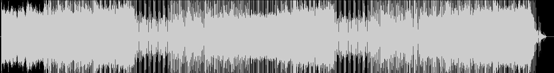 ゲーム音楽風チップチューンの未再生の波形