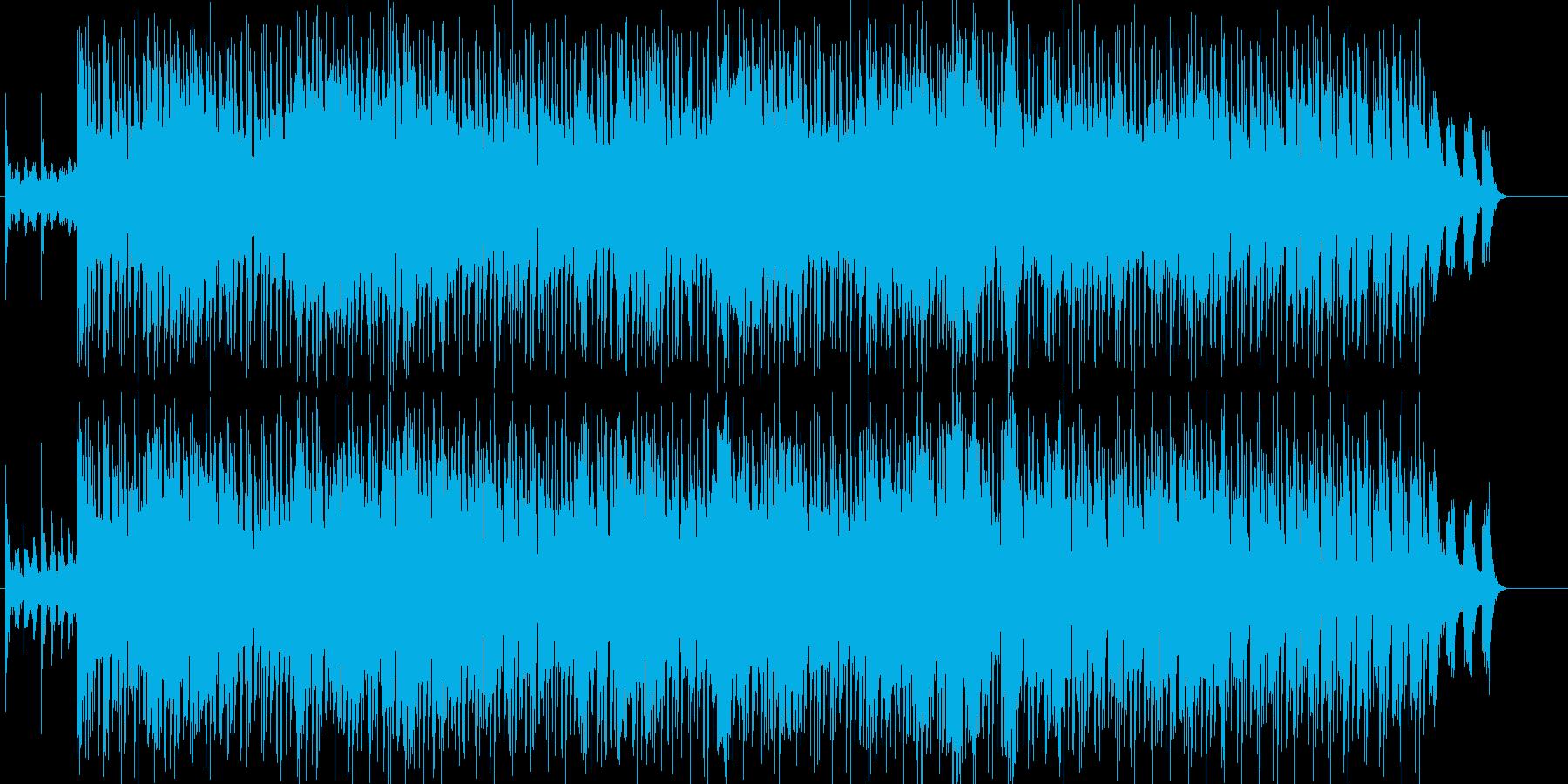不思議、さわやか、いきいき、おしゃれの再生済みの波形