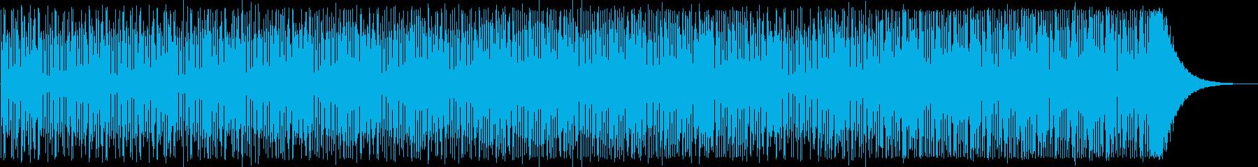 シリアスなシンセサイザーテクノ系EDM の再生済みの波形