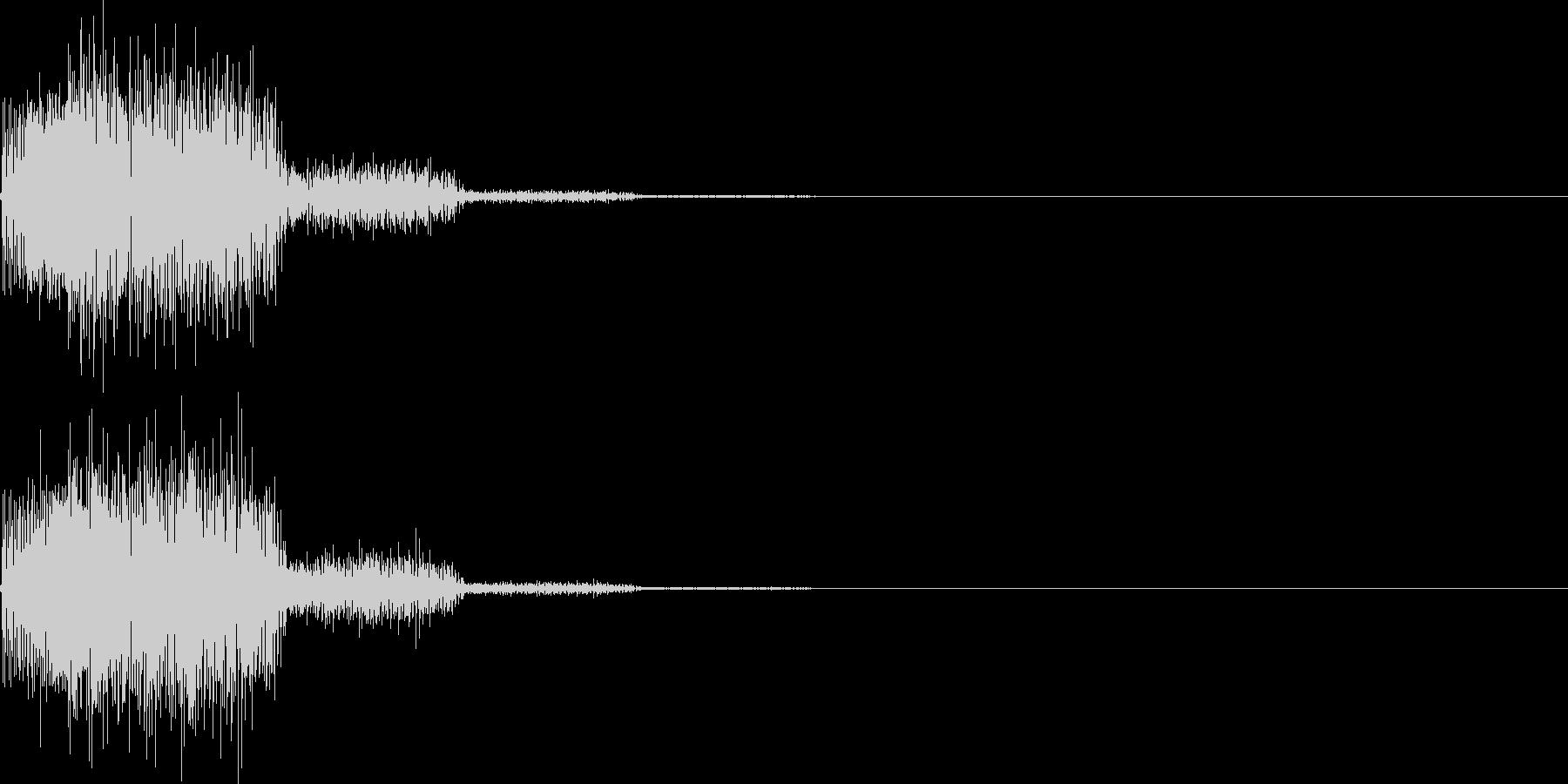 システム音42_シンセYKの未再生の波形
