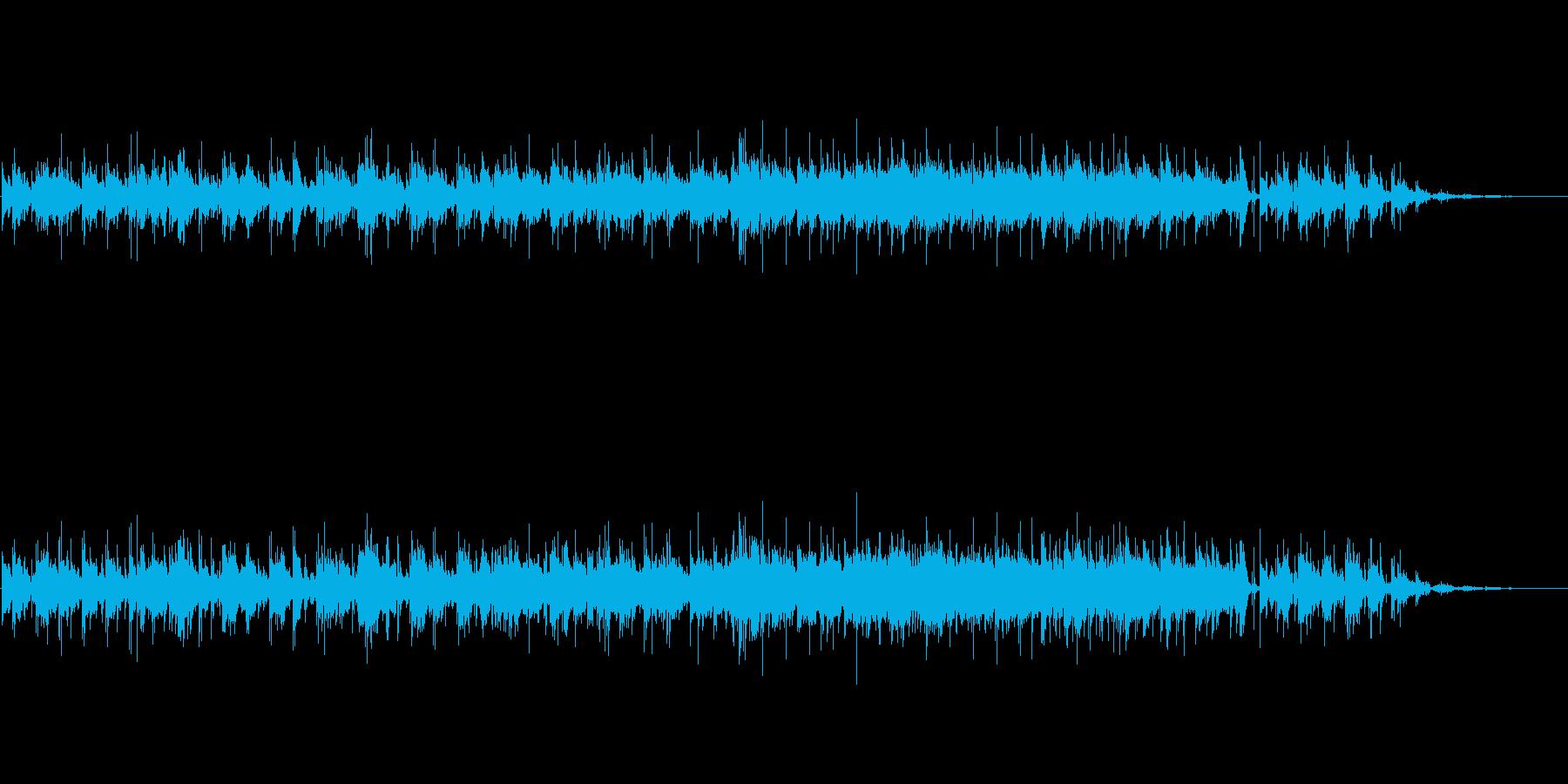 真夏のレゲエの再生済みの波形