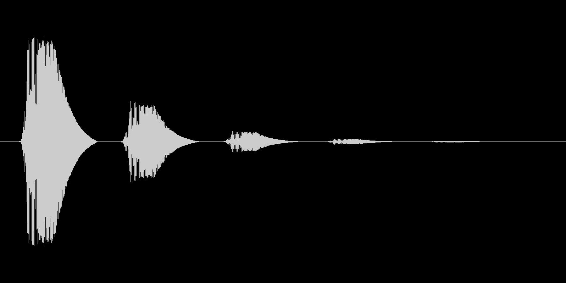 ファミコン風効果音カーソル系です 03の未再生の波形
