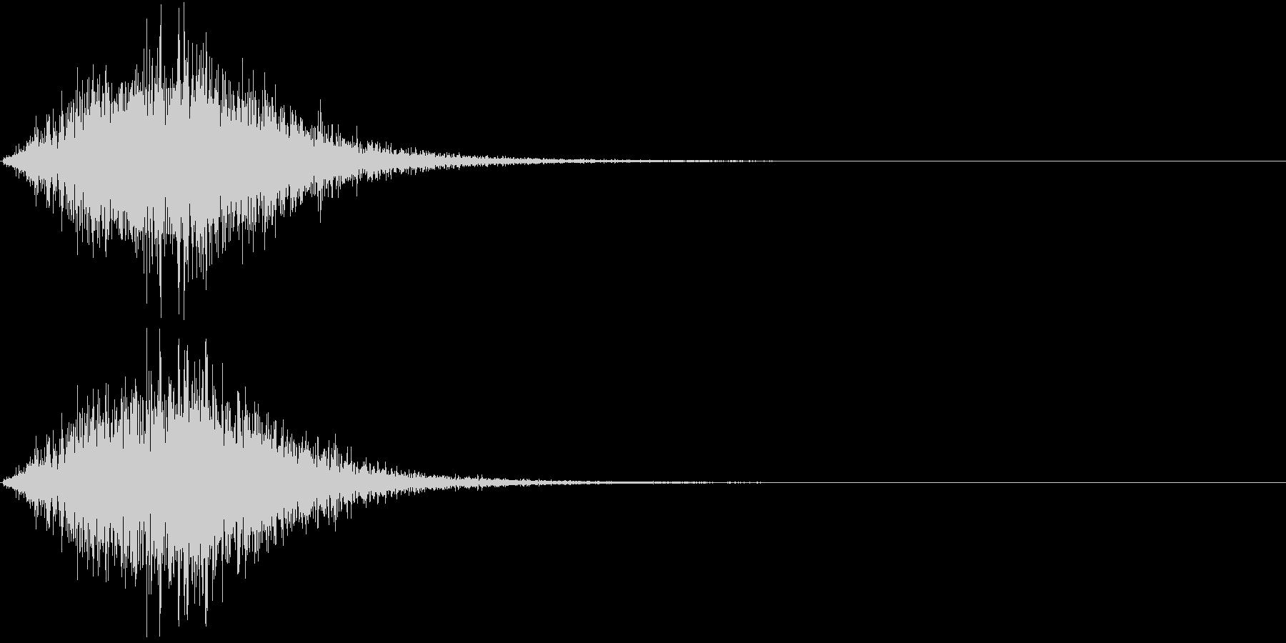 Battle 戦闘エフェクト音 10の未再生の波形