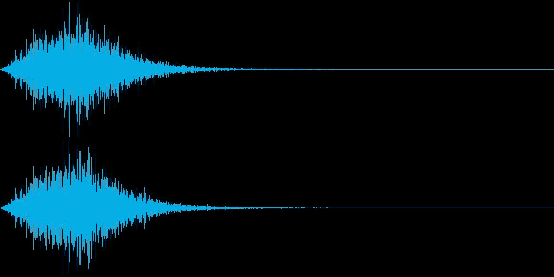 Battle 戦闘エフェクト音 10の再生済みの波形