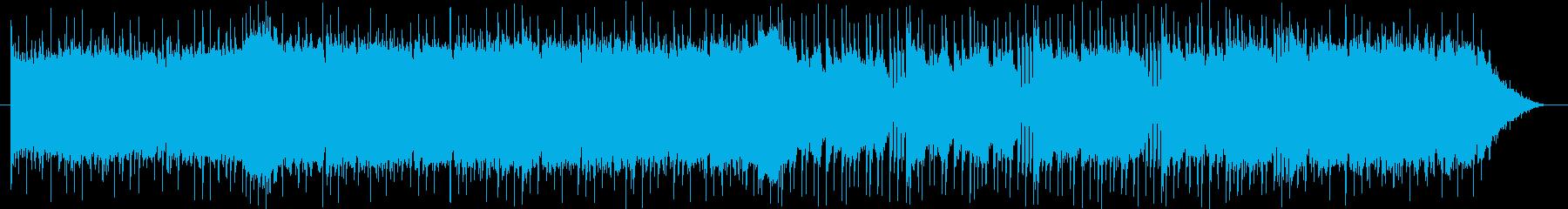 ゲームのBGMの再生済みの波形