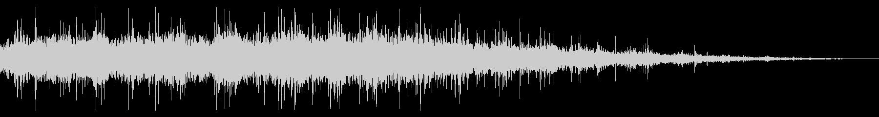 拍手の効果音(中規模/劇場/舞台)09の未再生の波形