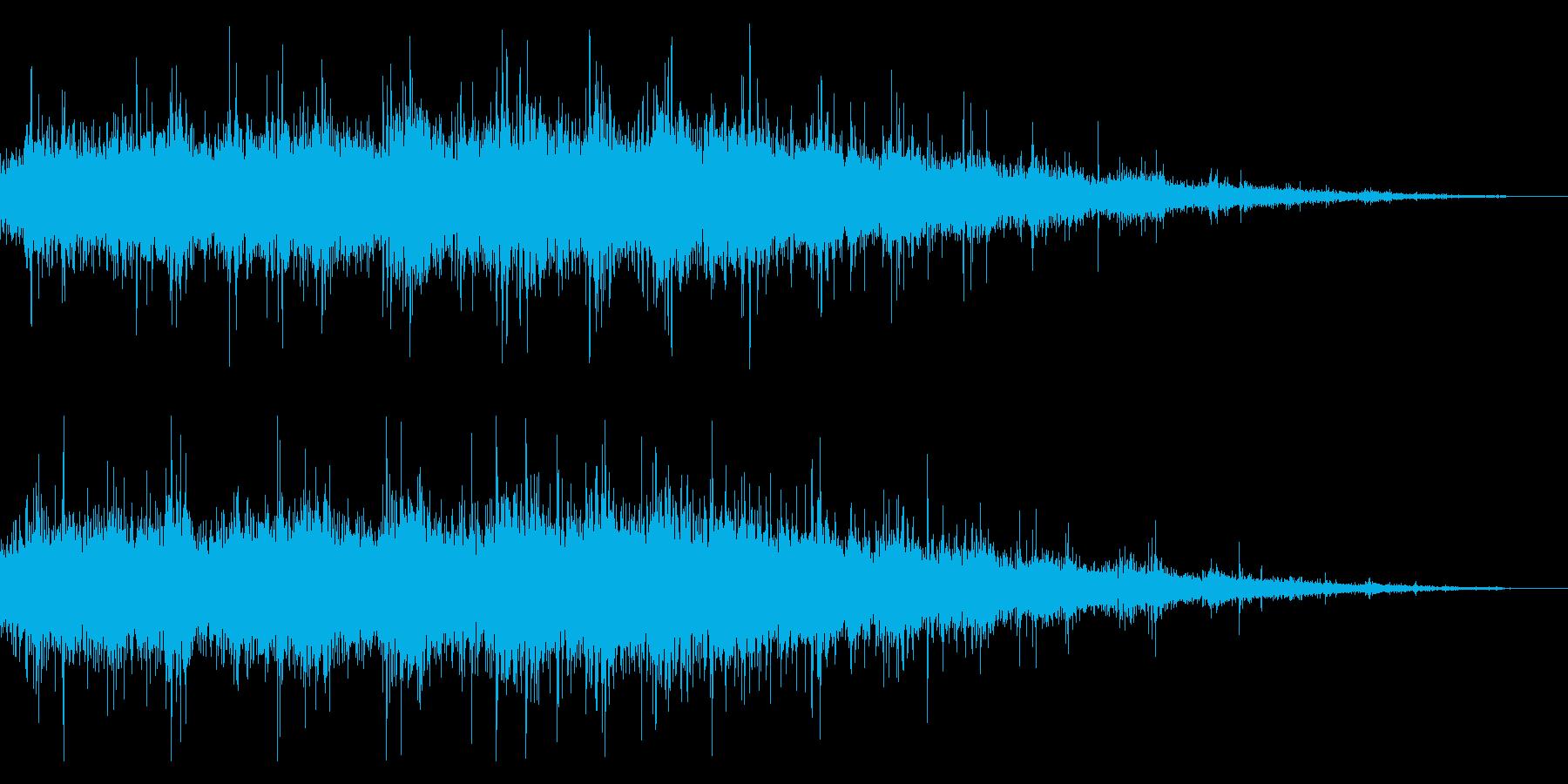 拍手の効果音(中規模/劇場/舞台)09の再生済みの波形
