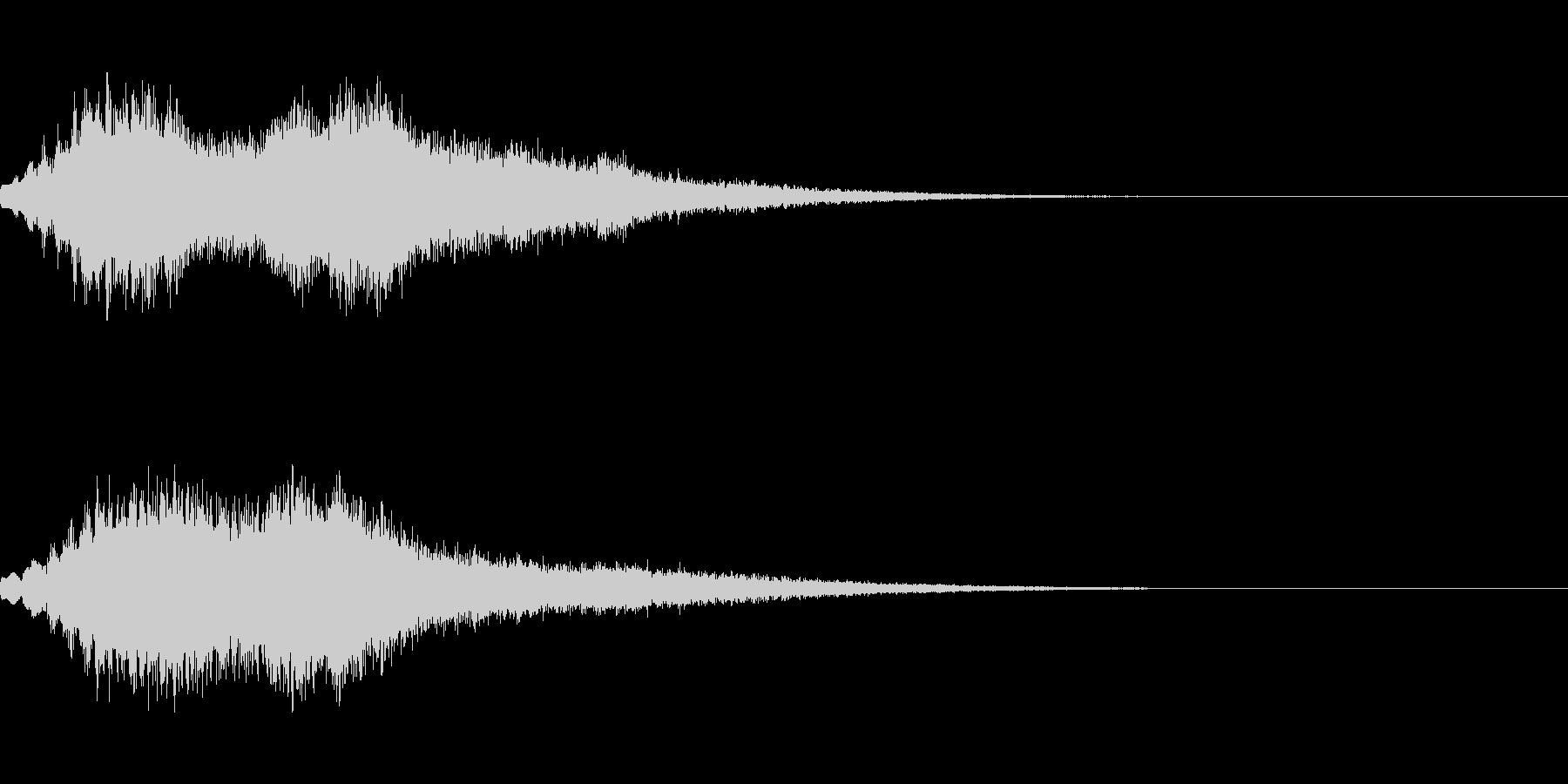 [シュオーン]パラメータUP(豪華)の未再生の波形