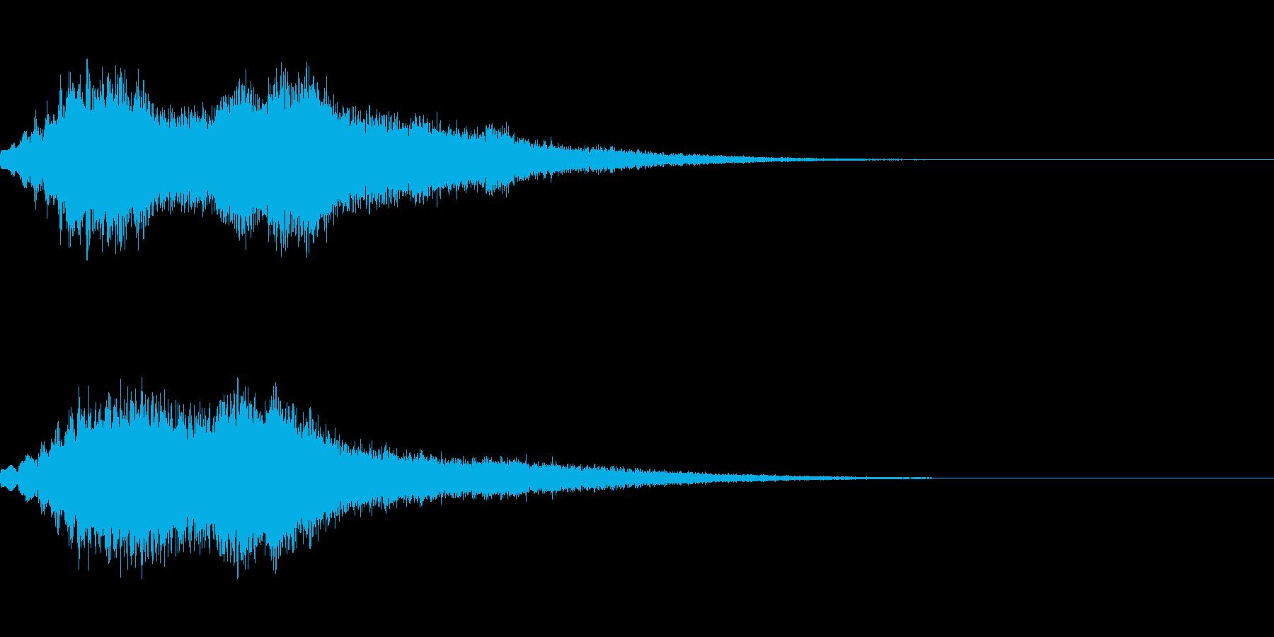[シュオーン]パラメータUP(豪華)の再生済みの波形