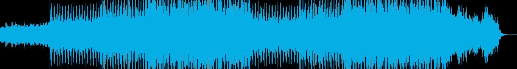 EDM明るくポップなクラブ系ダンス-08の再生済みの波形