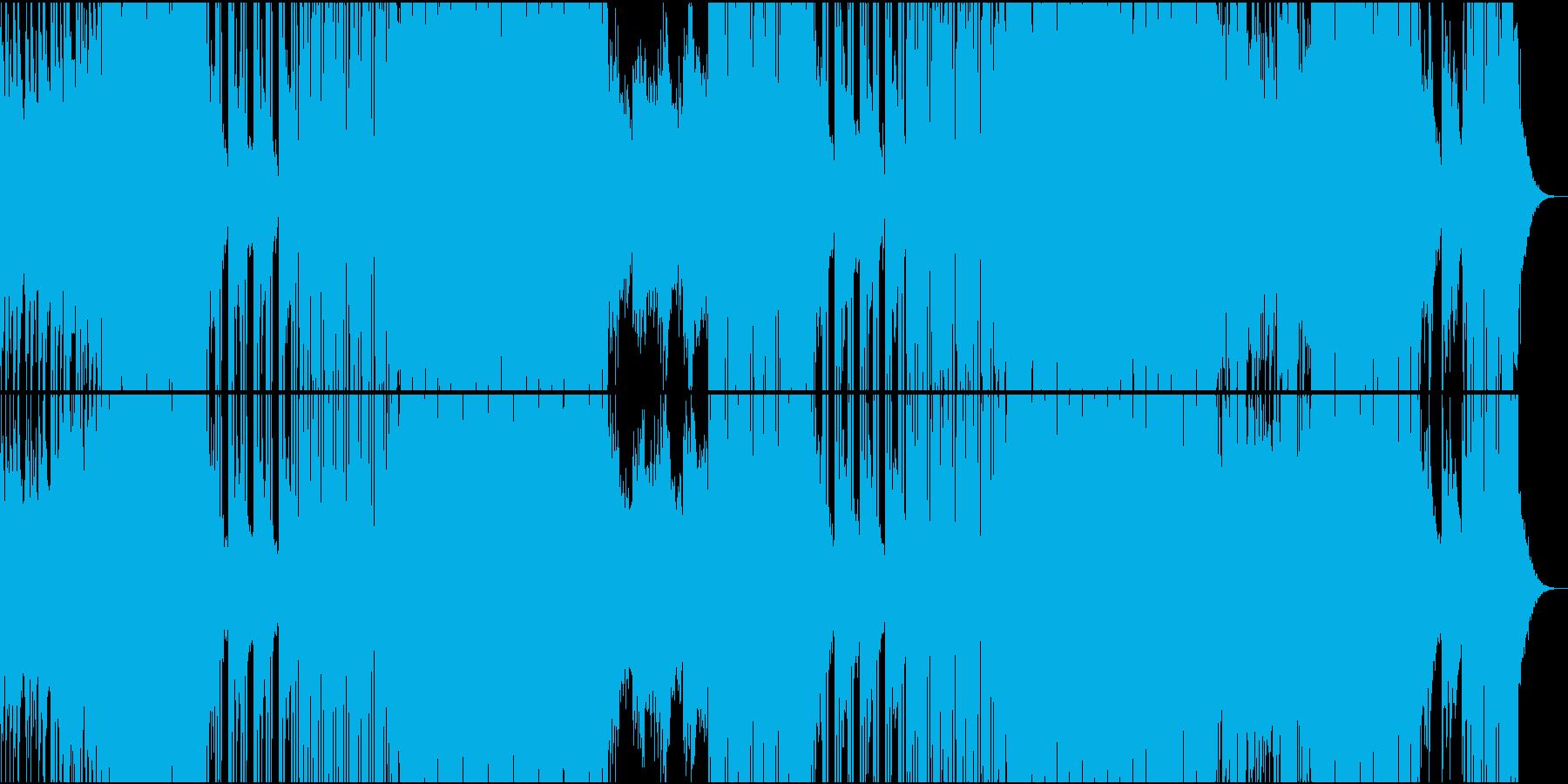 90'シンセ+ギター切ない洋楽POPの再生済みの波形