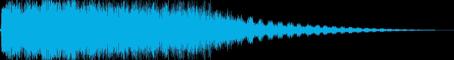 チューン!(魔法チャージみたいな)の再生済みの波形