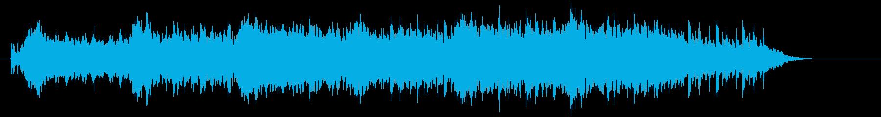神秘的で幻想的なスピリチュアルジングルの再生済みの波形