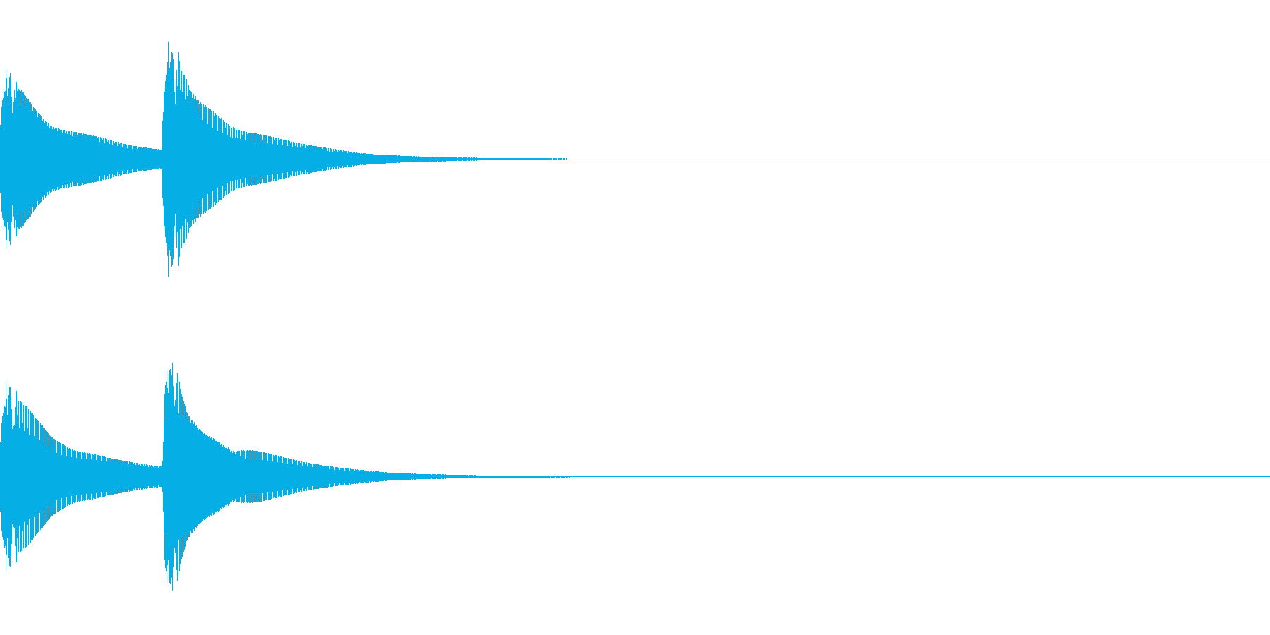 システム音/ピピン/電子音/タイプCの再生済みの波形