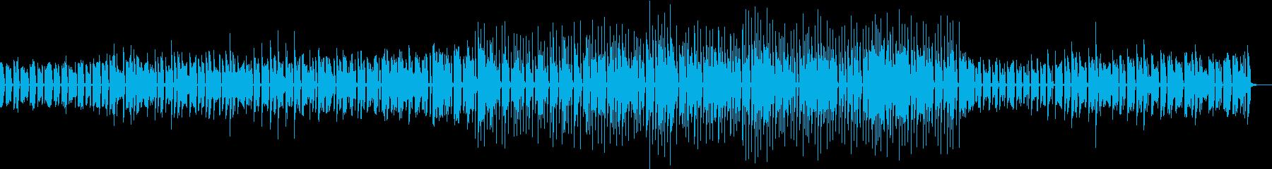 エレピ、オルガンによる日常的BGMの再生済みの波形