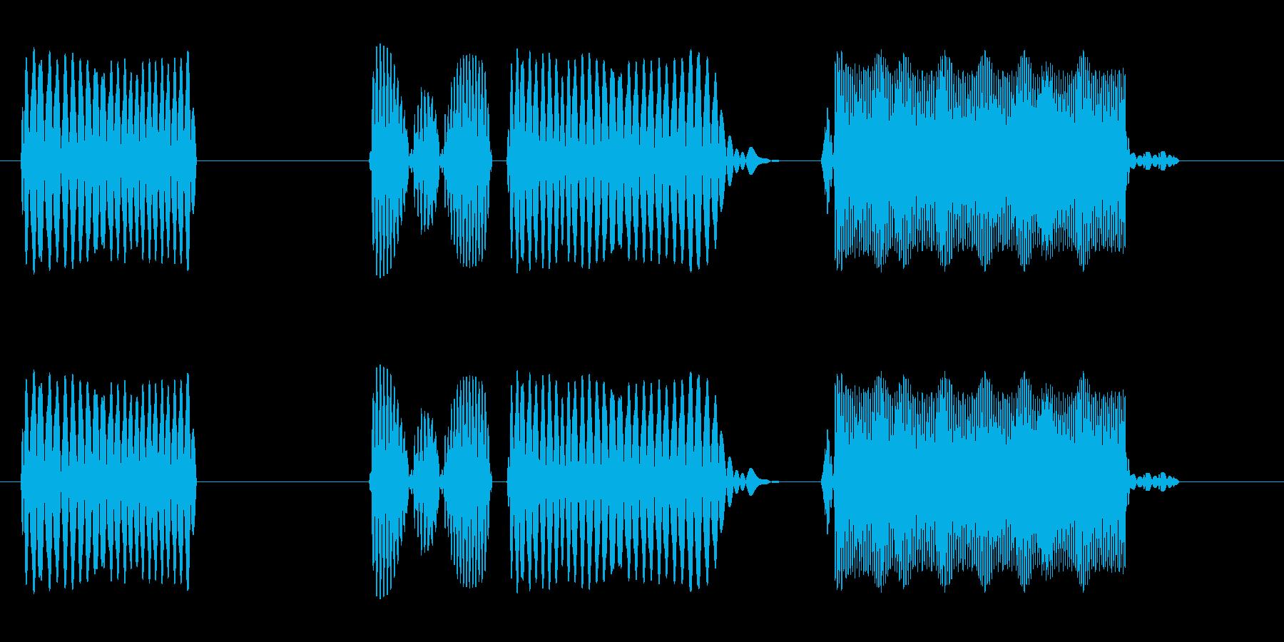 プヨン (柔らかい効果音)の再生済みの波形