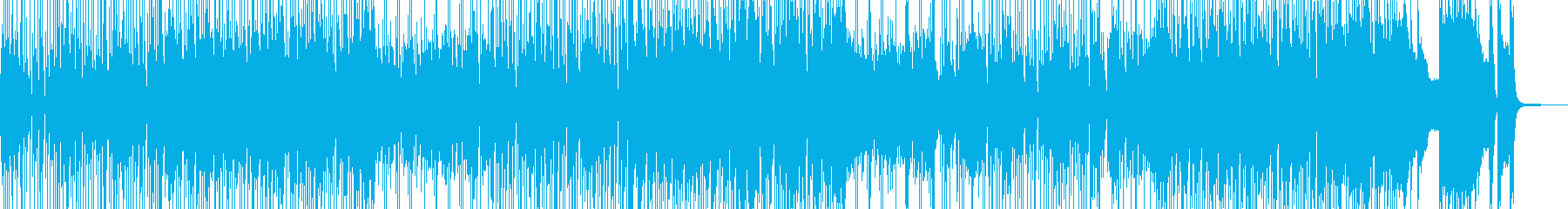 ヒッチハイクで旅するイメージのジャズの再生済みの波形