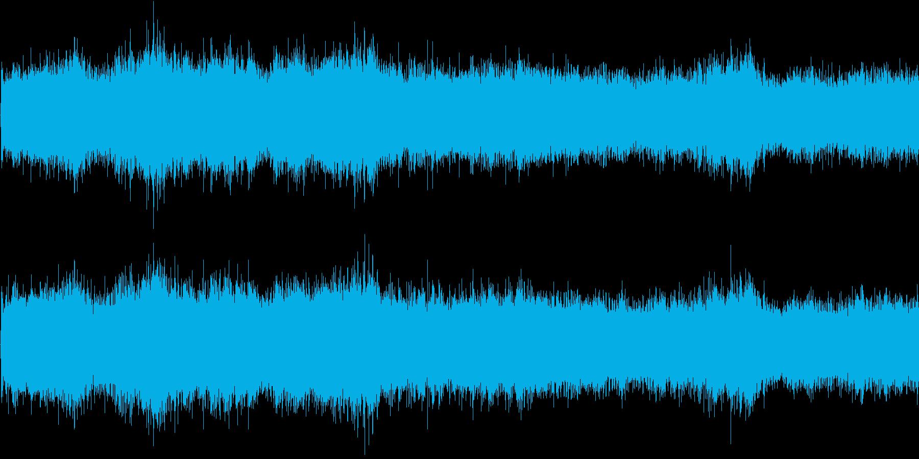 ザー・ざー・みしみしの再生済みの波形