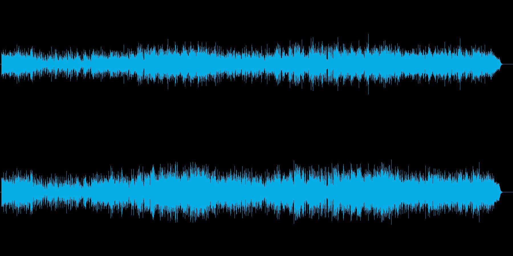 ボサノバ風軽いタッチのゴージャスなピアノの再生済みの波形