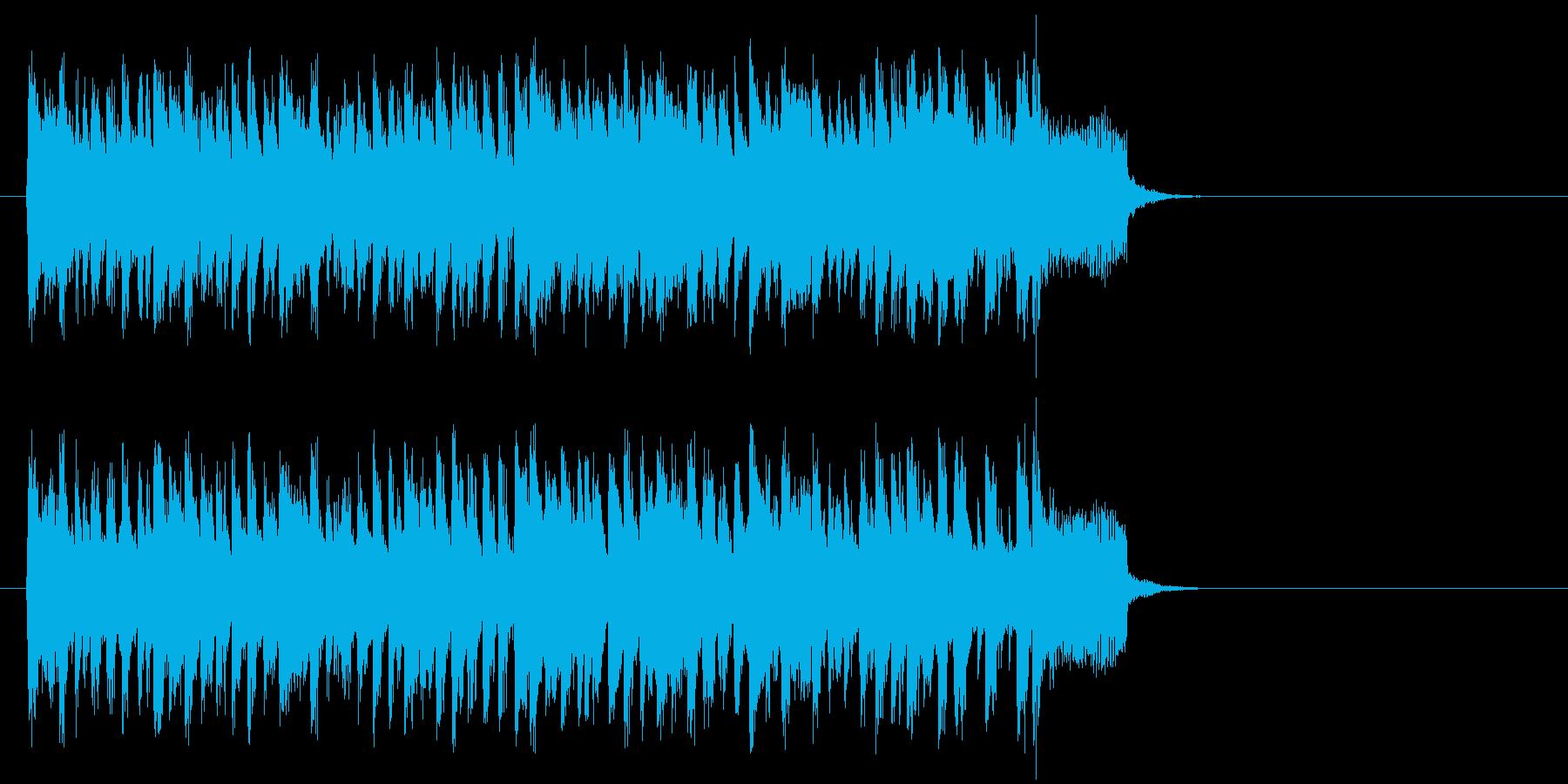 力強い歌謡曲風ポップス(サビ)の再生済みの波形