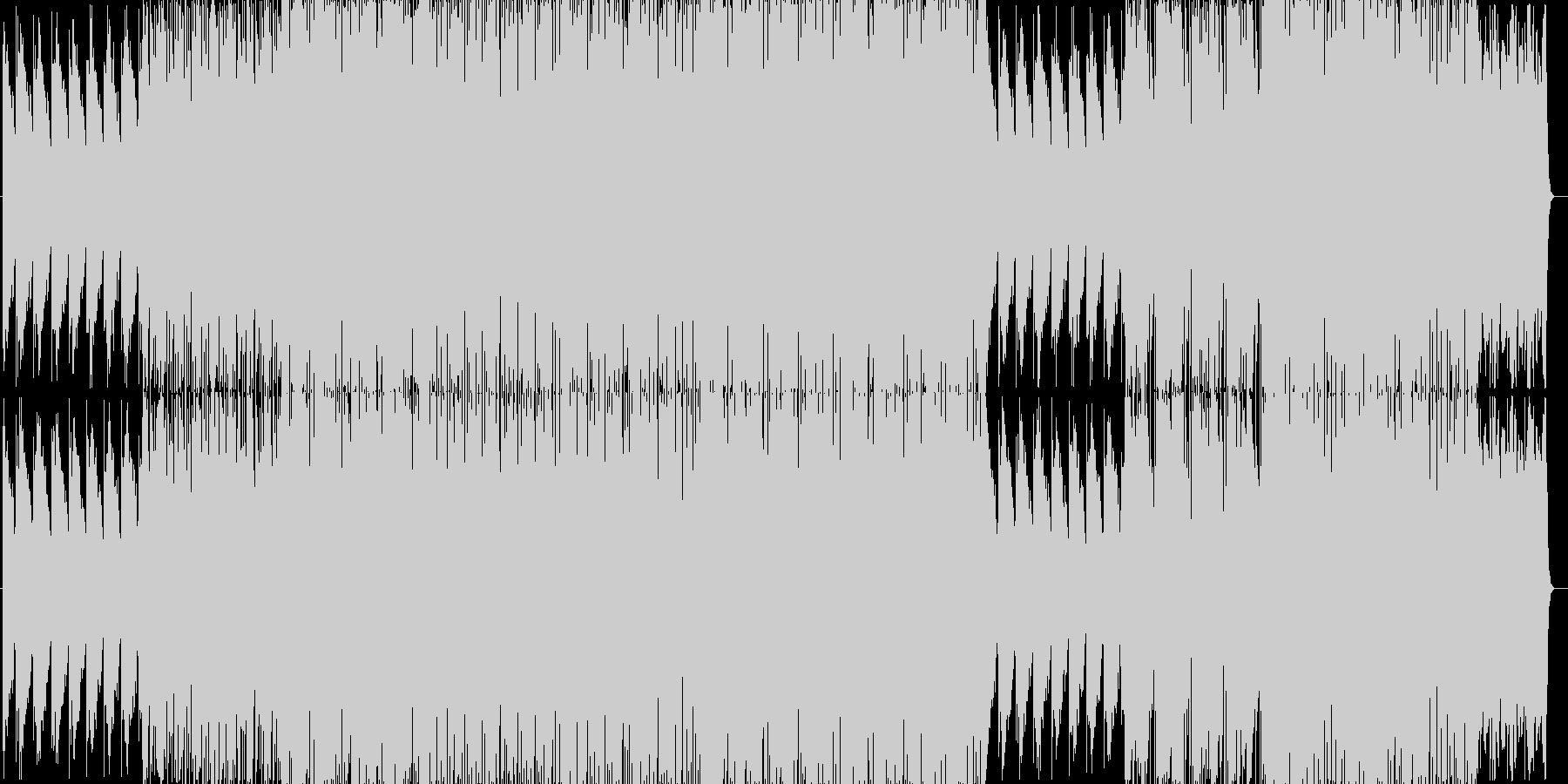 おしゃれでリラックスできるエレクトロニカの未再生の波形