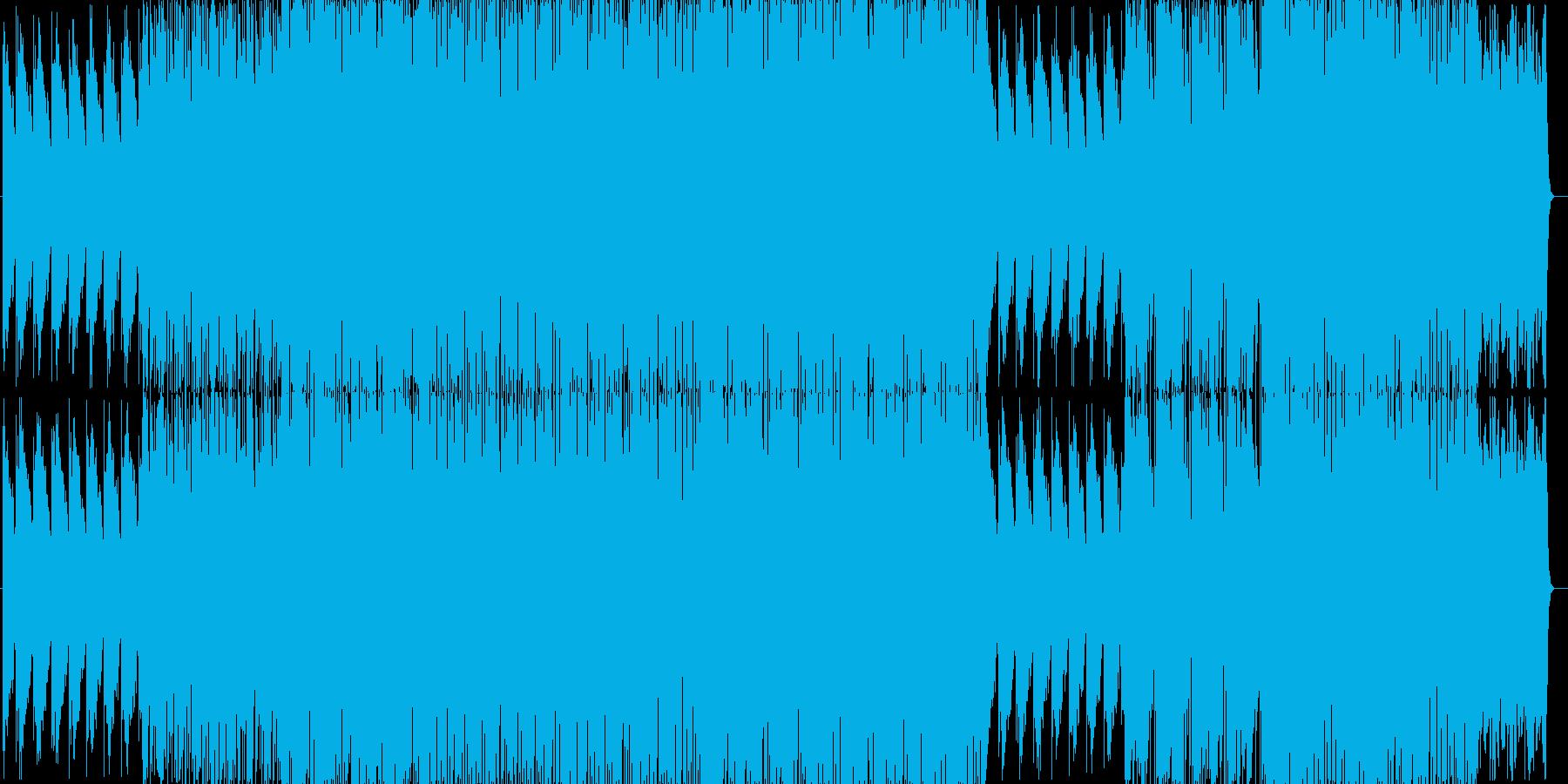 おしゃれでリラックスできるエレクトロニカの再生済みの波形